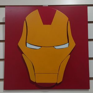Cuadro decorativo 3d Iron man