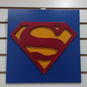 Cuadro decorativo superman